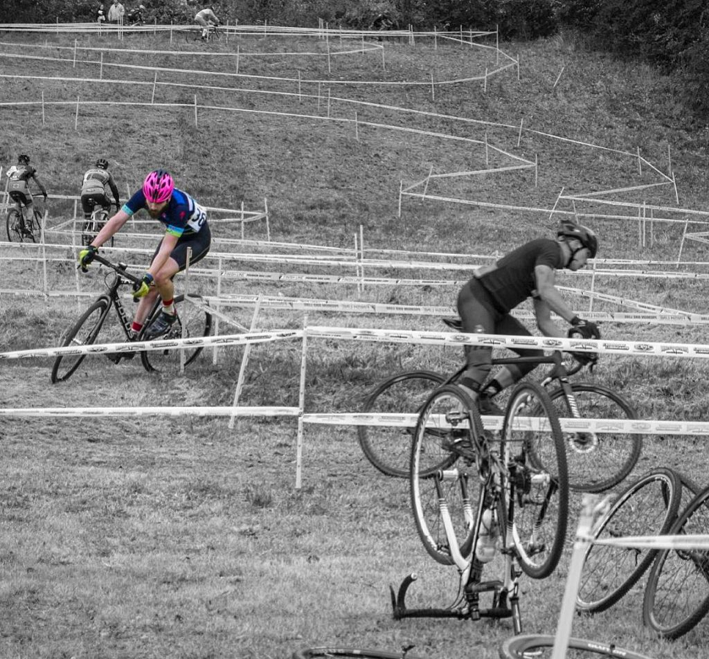 Rob on Cyclocross Course